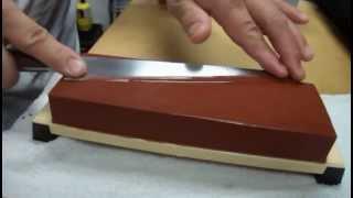 Maestro de shusi explica como afilar un cuchillo