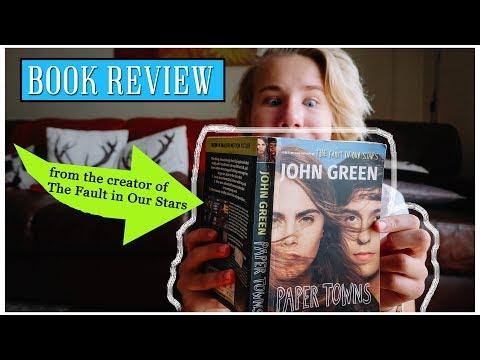 Paper Towns - John Green | Book Review
