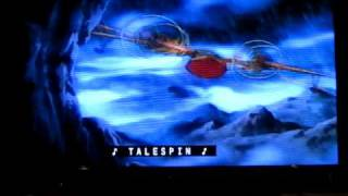 Opening To Talespin Volume 1: True Baloo VHS (With