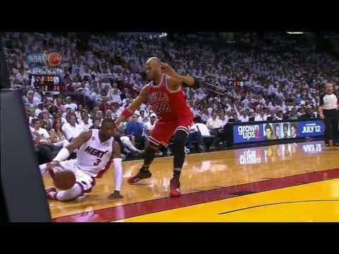 Wade Finds Allen Between Birdman's Legs