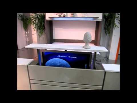 Prix meuble tele escamotable table de lit - Fabriquer un support mural tv ...