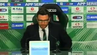 Sassuolo, Di Francesco: 'Zaza tornerà a segnare'