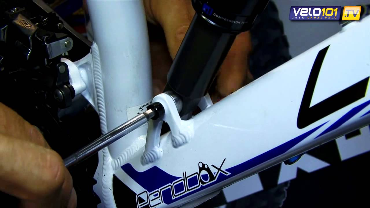 Lubrifiant Vélo T9   Leçon de mécanique   Installer un amortisseur