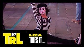 Liza Koshy Tries Miming in Times Square   TRL