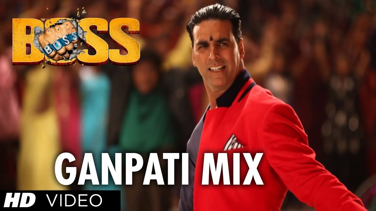 Boss Ganpati Mix Full Song - Boss