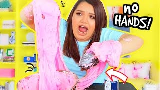 NO HANDS GIANT SLIME CHALLENGE!