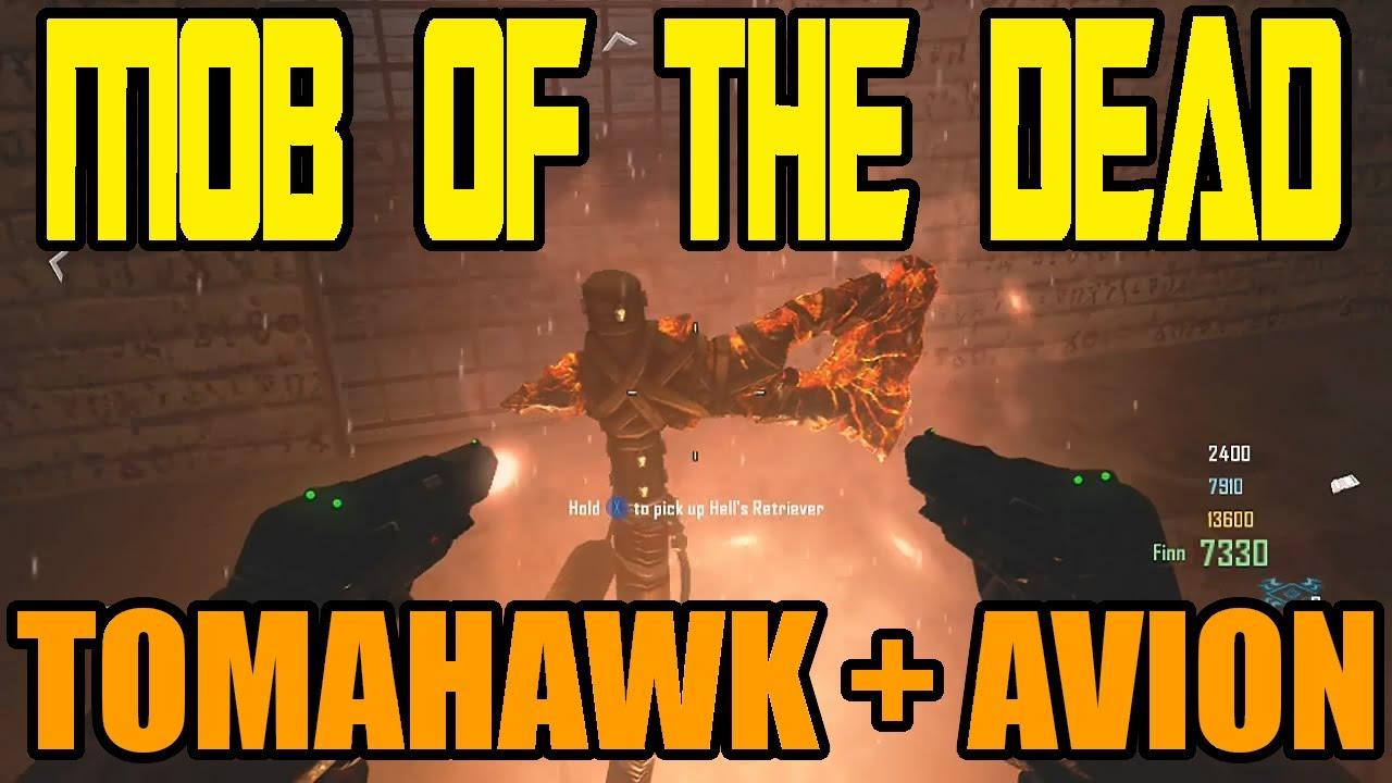 Mob of the dead quot zombies gameplay secret avion et tomahawk black