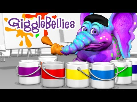 The GiggleBellies - Colors Of The Rainbow - with Lyrics
