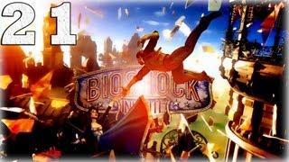 Bioshock Infinite. Серия 21 - Тише соловей, я с тобой... [Art let´s play]