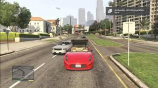 Grand Theft Auto 5 Ferrari Red