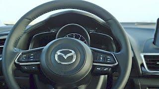 2017 Mazda3 Sedan INTERIOR. YouCar Car Reviews.