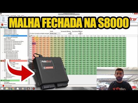 Malha Fechada na S8000 - Dica INJEPRO