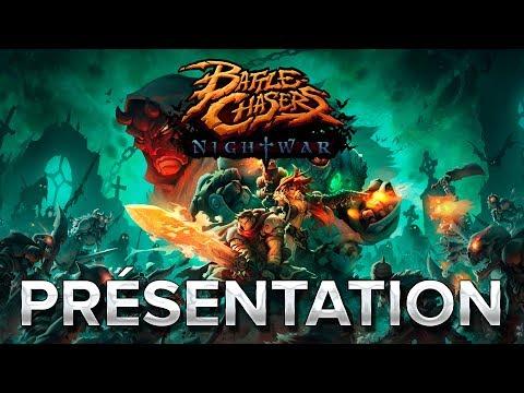Battle Chasers Nightwar : Présentation en 1min39