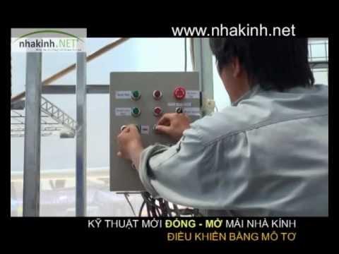 Kỹ thuật đóng mở mái nhà kính, Nhà kính nông nghiệp công nghệ cao