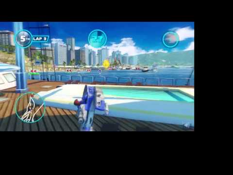 UpInFlam3z Rages at Sonic Racing Glitch