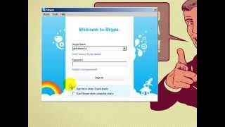 Menggunakan Skype