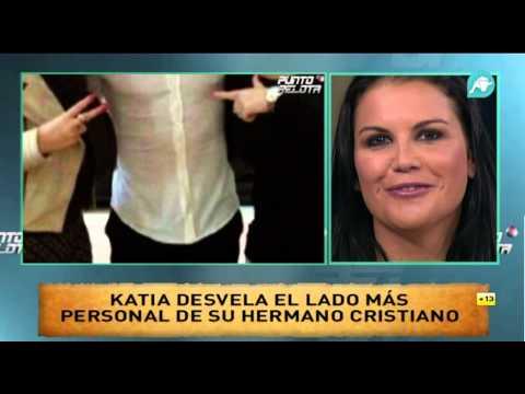 Katia Aveiro, hermana de Cristiano Ronaldo, visita Punto Pelota y nos