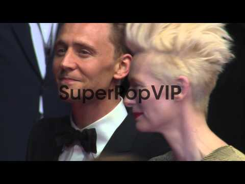 Tilda Swinton, Tom Hiddleston at 'Only Lovers Left Alive'...