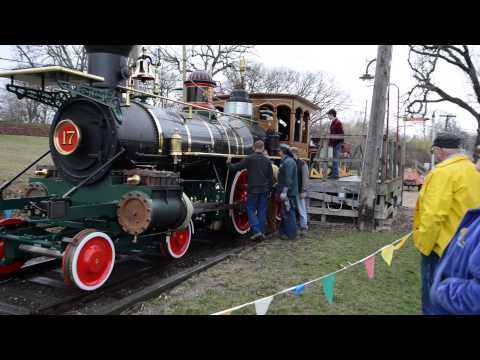 York 17 Steam Locomotive Trial Runs April 15-16, 2013
