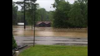 DUBOIS PA FLOOD JUNE 27 2013