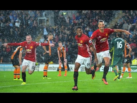 hull city vs man utd highlights