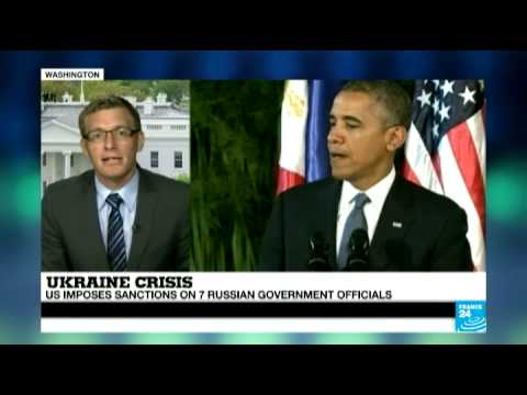 Ukraine crisis: Obama announces new US sanctions on Russia