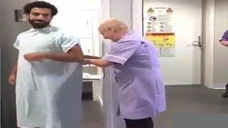 بالفيديو..شاهد محمد صلاح داخل المستشفى اثناء عمل الاشاعة       قنوات أخرى