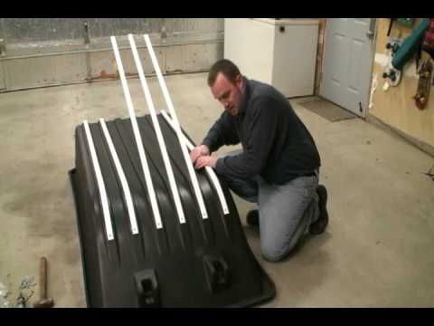 Ultimate Portable Ice Fishing House Build Series The Art