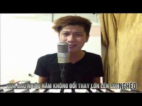 [HD 720 ] Con Nhà Nghèo - LEG Video Lyrics Kara [ Nhạc Chế Full HD ]