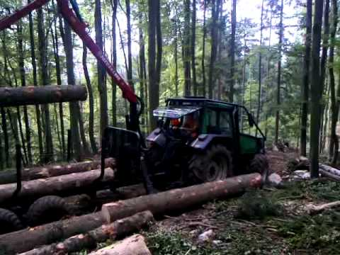 Kesla Patu and Valtra 8050