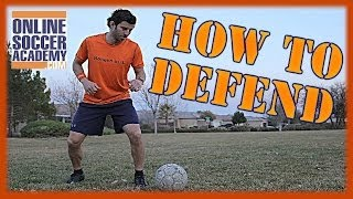 How To Defend Against Fast Attackers Online Soccer