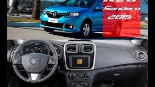 Novo Renault Sandero 2015 Interior