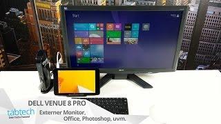 Dell Venue 8 Pro Arbeiten Mit Externen Monitor