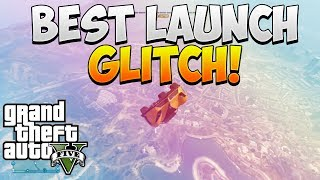 "GTA 5 ONLINE GLITCHES: INSANE ""CAR CANNON"" GLITCH / ""CAR LAUNCH"" GLITCH ONLINE! ""GTA 5 GLITCHES"""