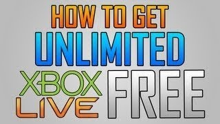 ++UPDATED!!++ How To Get Unlimited Xbox Live Gold FREE