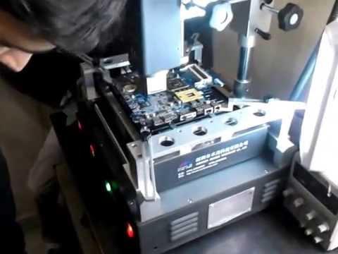 BGA Machine Operation Part-1. Call : 8010708080  Laptop Chiplevel Repairing course institute