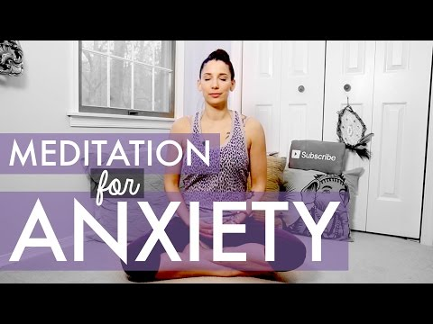 Meditation for Anxiety and Panic Attacks - How to Meditate for Beginners - BEXLIFE
