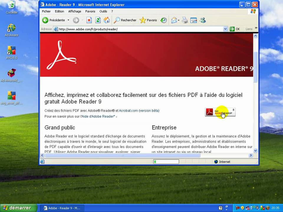 how to download adobe flash player pdf