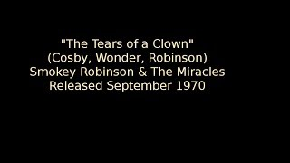 'Tears Of A Clown' Smokey Robinson & The Miracles (info