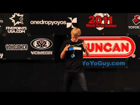 YoYoFactory Presents: Gentry Stein 3rd Place 2011 World Yoyo Contest