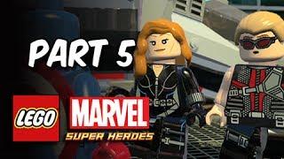 LEGO Marvel Super Heroes Gameplay Walkthrough Part 5