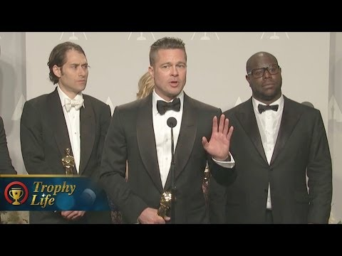 12 Years A Slave Best Picture - Oscars 2014 Press Interview