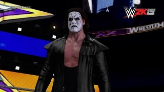 Sting's WWE 2K15 Entrance: NEXT GEN