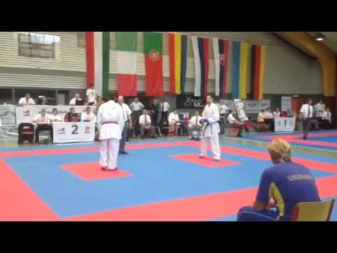 Чемпионат Европы EGKF. Негатуров Дмитрий(1 бой)