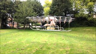 The Human Quadcopter Takes Flight!