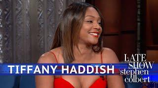 Tiffany Haddish Doesn't Need Men, She Has A Blanket