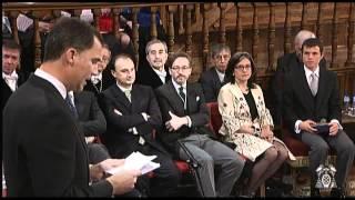 Premio Cervantes - Discurso de Principe Felipe