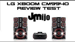 Nuevo LG XBOOM PRO CM9940 Review Test