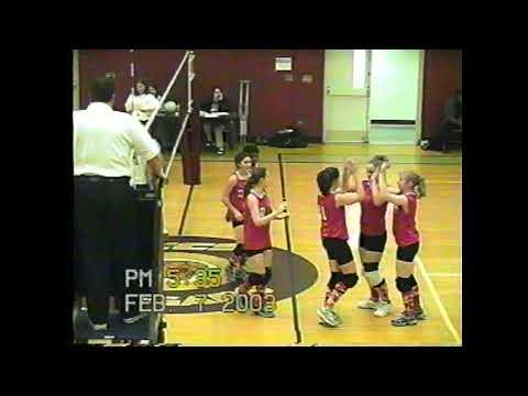 NCCS - Beekmantown JV Volleyball  2-7-03
