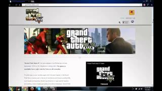 Download Grand Theft Auto 5 For Pc,PSP,PS3 And XBox360
